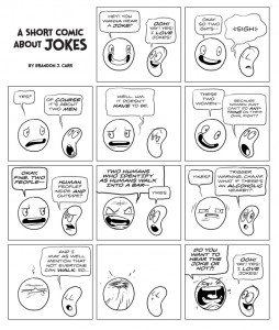 A Short Comic About Jokes