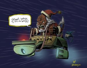 Klingon Santa